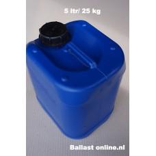 25 kg eenheden cans